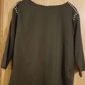 H&M rhinestone blouse